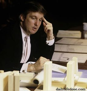 Donald Trump as a Student, Author, and President of United States of America
