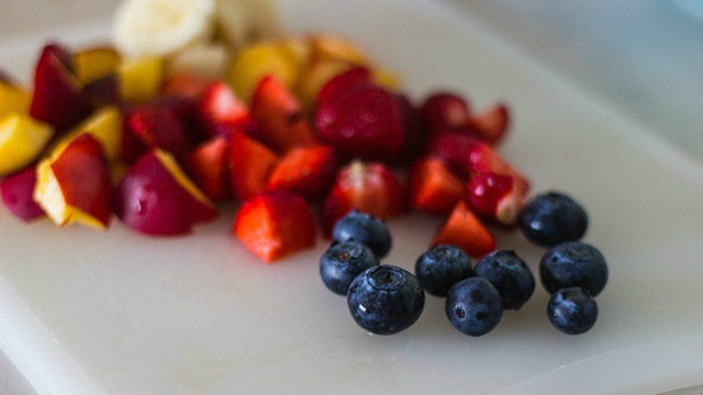 Replace a bad habit with fruit