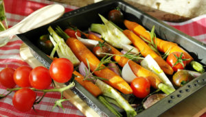 Quick and Easy Roasted Vegetables