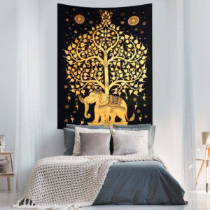Modern Tapestries for Wall Hanging: 3X Cheap than Costly Paints!