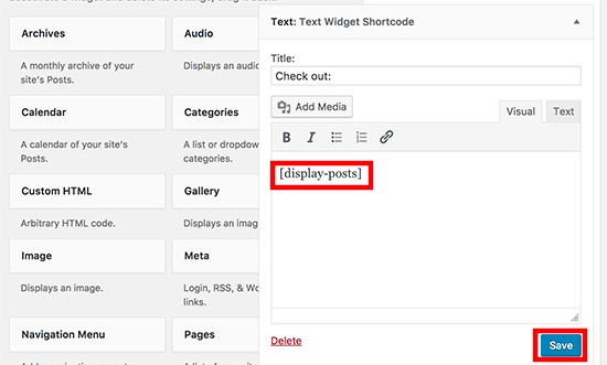 how to add shortcodes to wordpress